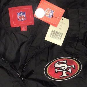 49ers NFL Jacket xl brand new vintage